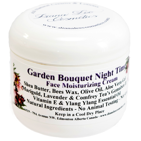 Garden Bouquet Night Time Face Cream